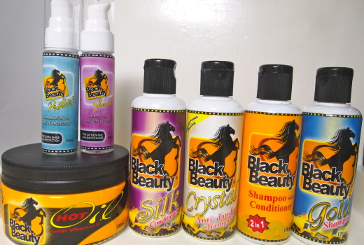 Goodies from Black Beauty Philippines!