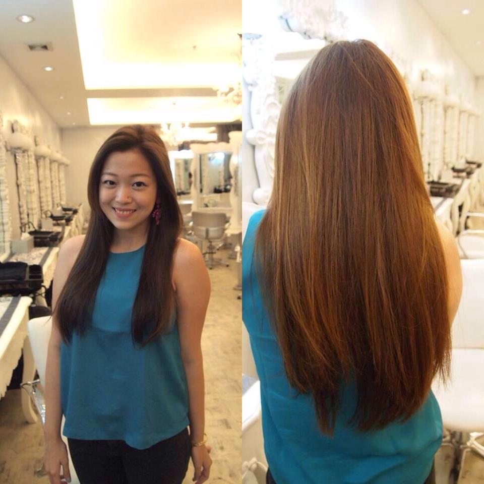 Tremendous Ombre Hair David S Salon Price Short Hairstyles Gunalazisus